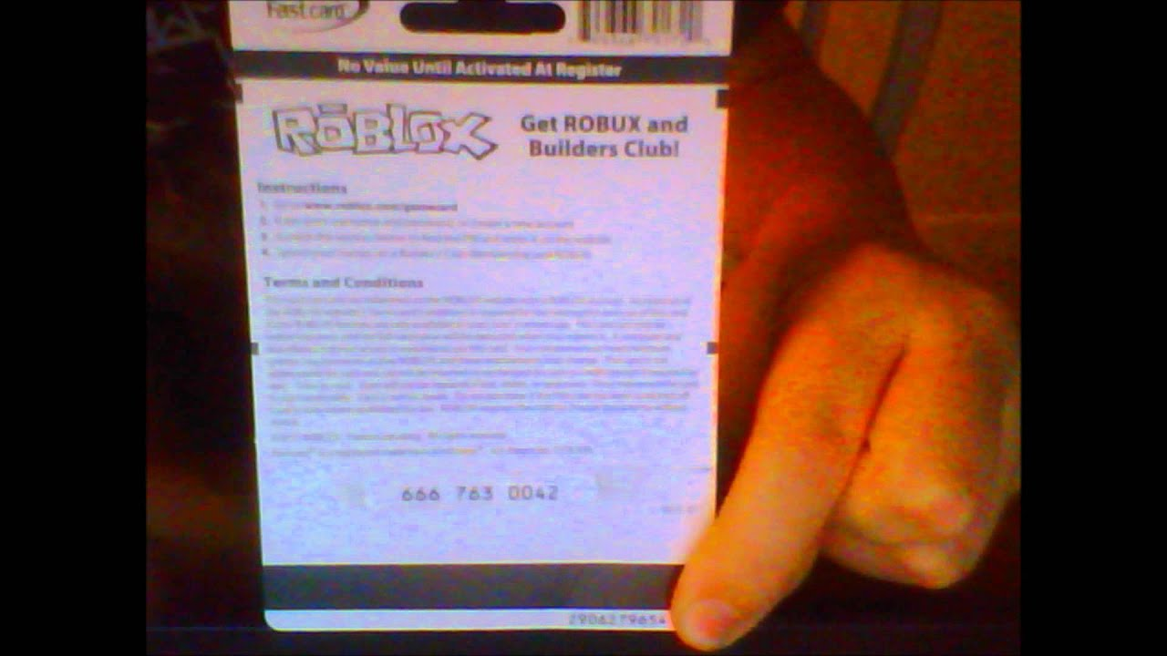 roblox game card giveaway YouTube