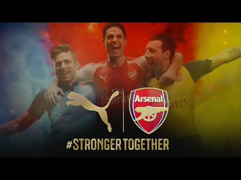 PUMA Launches Arsenal Kit Trilogy Through River Thames Water Projection