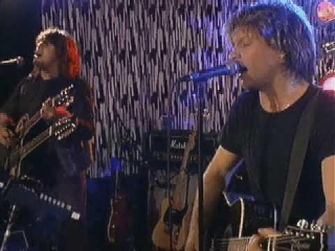 Bon Jovi - Livin' on a Prayer (unplugged)