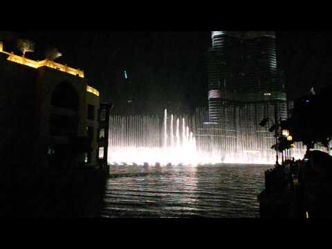 Dubai Festival of Lights (Day 2) Dancing Fountain