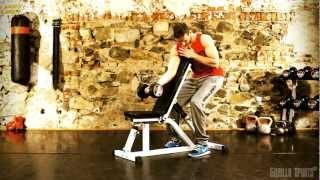 Planche à abdominaux GS009 Gorilla Sports