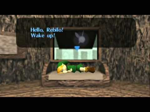 Legend of Zelda, The - Ocarina of Time - Legend of Zelda Ocarina of Time - Video Tutorial HD Game walkthrough - PART 1 - Opening - User video