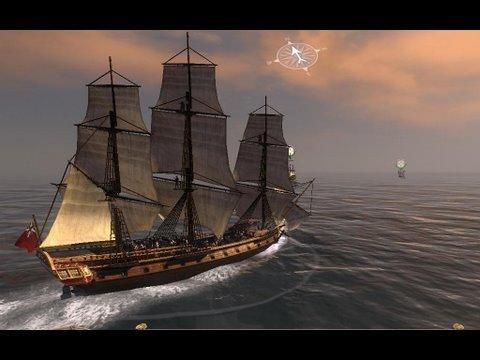 Empire Total War Gameplay Naval Battle HD