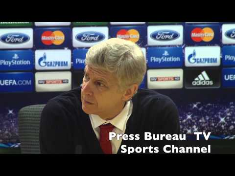 Arsene Wenger reaction Arsenal vs Bayern Munich