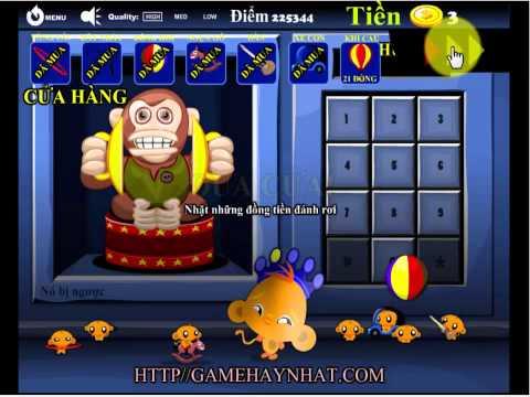 Chú khỉ buồn vui 14 - Game Trí Tuệ - Gamehaynhat.com