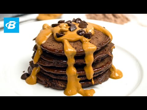 Chocolate Peanut Butter Low Carb Protein Pancakes Recipe | Isopure Protein