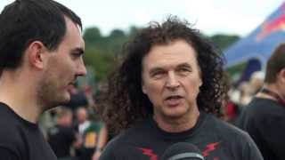 ACCEPT Peter Baltes interview at Bloodstock Open Air 2013