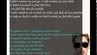 Miley Cyrus Someone Else-Letra Español Ingles