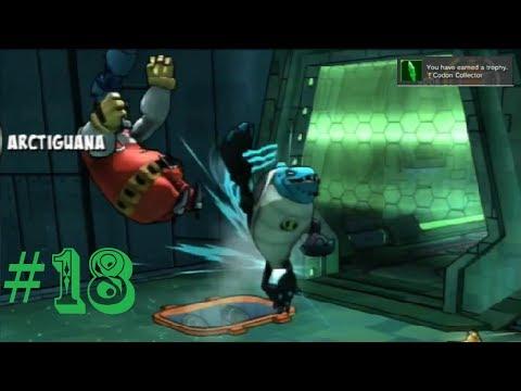 Ben 10 Omniverse - PS3 - Walkthrough Part 18 - Plumb Crazy (1/2)