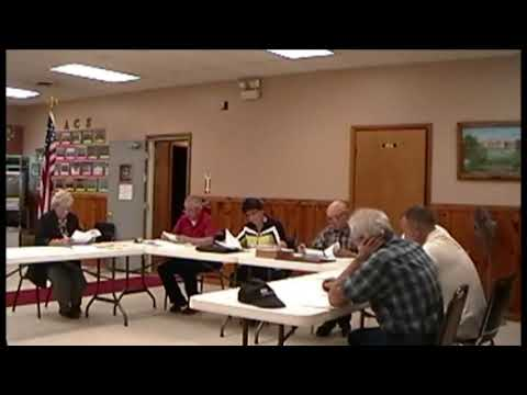 Altona Town Board Meeting 4-16-12