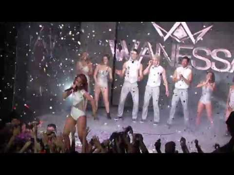 Wanessa - Shine It On - Blue Space - 24/08/2013 (HD - By Alan Junior)