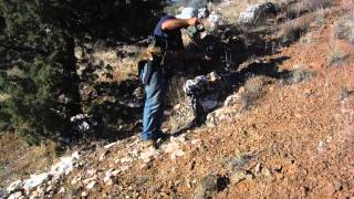 Out in the Field - Garrett ATX Gold Hunt at Gold Mines
