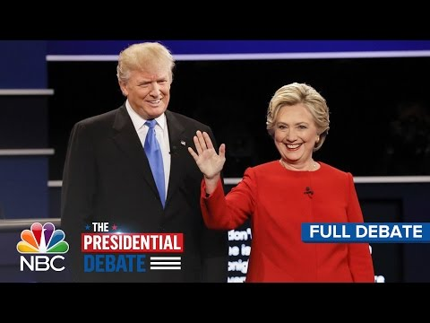 The Presidential Debate: Hillary Clinton And Donald Trump (Full Debate) | NBC News