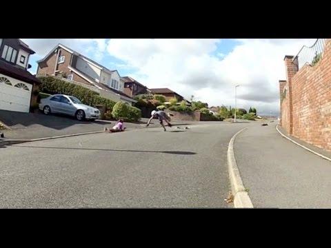 Longboarding Fails Compilation 2013