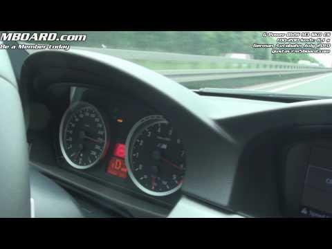 G-Power BMW M3 SKII CS 100-200 km/h in 6,1 s and 285 km/h run GPS-verified on Vbox