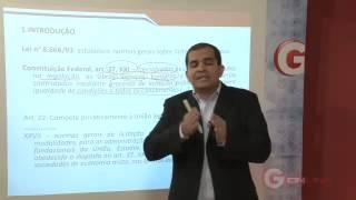 Prof. Gustavo Dica Lei 8666 - 93 Contratacao direta - Percursus view on youtube.com tube online.
