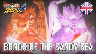Naruto SUN Storm 4 - Bonds of the Sandy Sea DLC Trailer