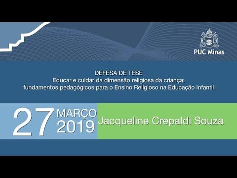 Defesa de tese Doutorado de Jacqueline Crepaldi Souza