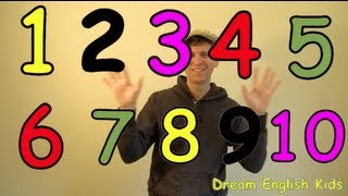 Numbers Song Lets Count 1-10 New Version, DreamEnglish