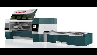 High dynamic fiber laser cutting machines SALVAGNINIL5