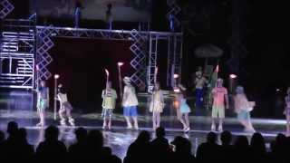 Disney On Ice: Let's Celebrate - Hawaiian Segment - HD