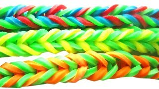 How To Make Super Easy 4 Sided Fishtail Stretchy Bracelets