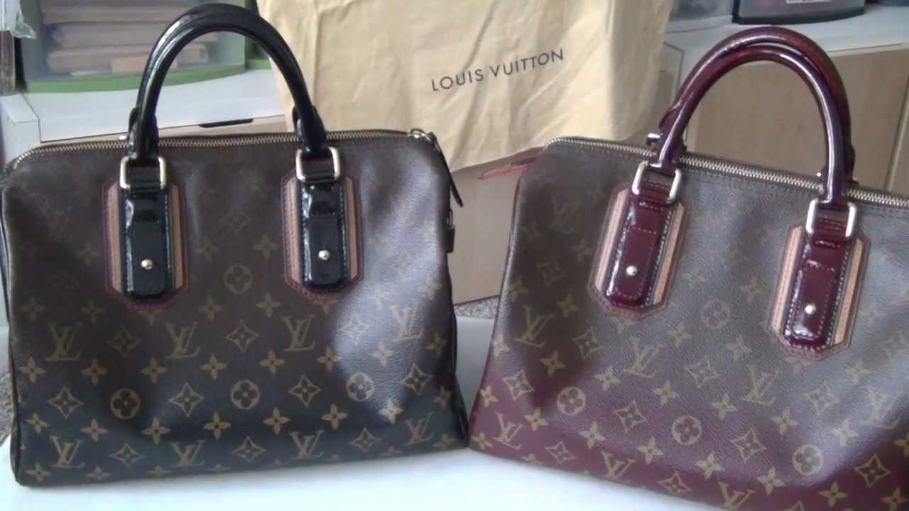 My louis vuitton collection part 9 noir mirage speedy 30 for Miroir noir watch online