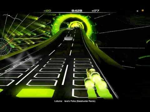 Loituma - Ievan Polkka (Basshunter Remix) on AudioSurf