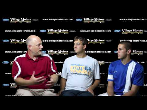 West Holmes doubles team visits Ticket TV driven by Village Motors
