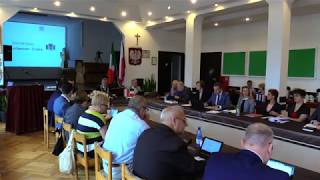 XLII zwyczajne posiedzenie Sesji Rady Miejskiej Władysławowa w dniu 30.06.2017 r. Proponowany porząd