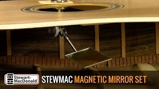 Watch the Trade Secrets Video, StewMac Magnetic Mirror Set