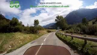 Roadbook moto  Ariège : Montagne du Planturel