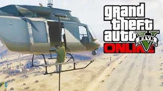 GTA 5 Online How To Rappel, Go Faster On A Bike & Speed