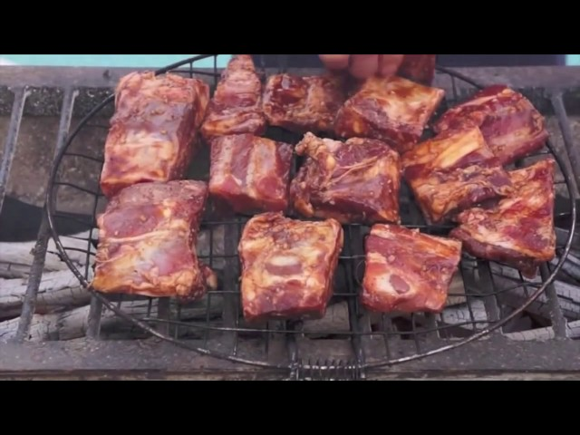 BBQ PORK RIBS PINOY STYLE food of the Philippines ‪How to cook Great Filipino