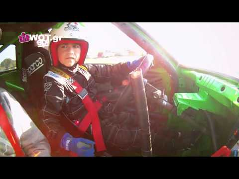 Meet Stavros Grillis, the youngest drifter in the world (9,5 years old)
