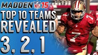 Madden NFL 15 Final 3 Of The Top 10 Most Exciting Teams To