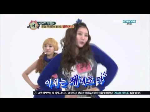 130116 헬로비너스 (Hello Venus) Random Play Dance, DISCLAIMER: We DO NOT own this video. This is for entertainment purpose only. Enjoy~