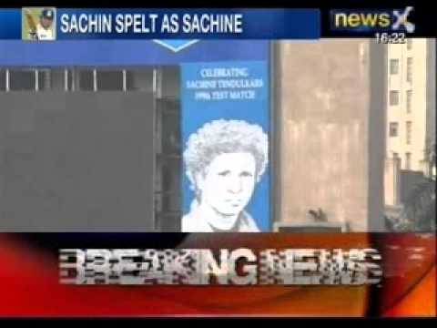 Angry M S Dhoni Blasts Officials for Misspelling Sachin's Name - News X