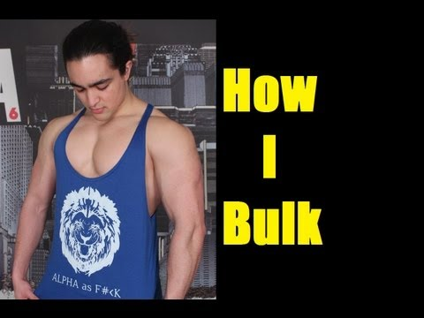 HOW TO BUILD MUSCLE: MY LEAN MASS PHASE