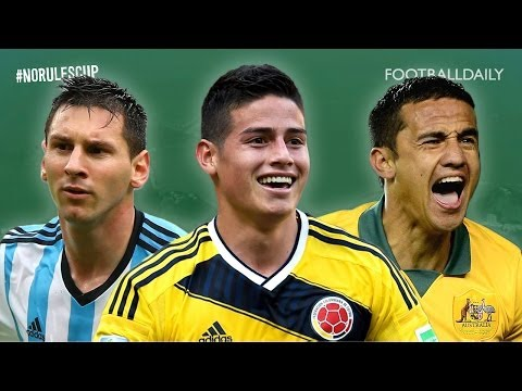 Top 5 2014 World Cup Goals - fans recreate the best strikes! | #NoRulesCup