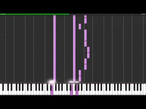 THE XX INTRO-SYNTHESIA PIANO