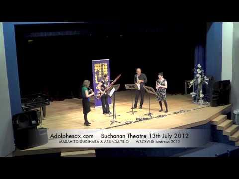 WSCXVI MASAHITO SUGIHARA & ARUNDA TRIO   Three Preludes by George Gershwin