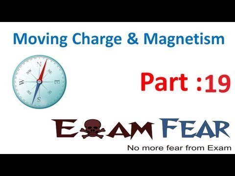 Physics Moving Charge & Magnetism part 19 (Magnetic field due to circular loop- Special case) CBSE
