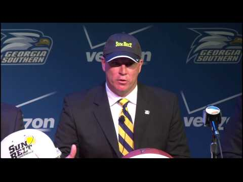 Georgia Southern University - Sun Belt Announcement