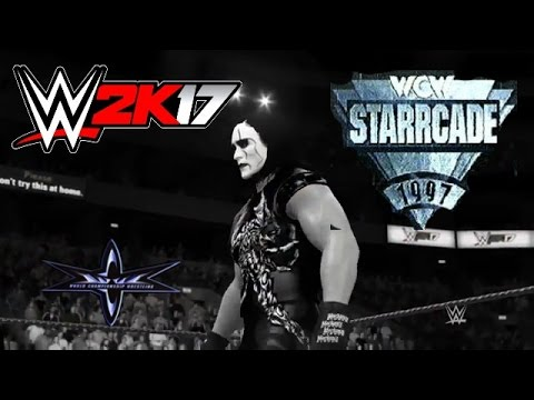 WWE 2K17 - WCW STARRCADE 97 - STING vs HOGAN