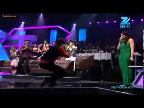 CrocRoaz Raghav) Proposed Bipasha Basu on Dance India Dance Season 3.flv