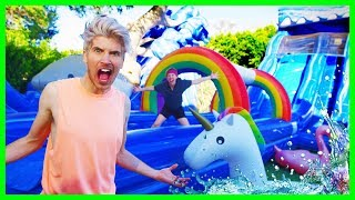 I TURNED MY BACKYARD INTO A WATER PARK