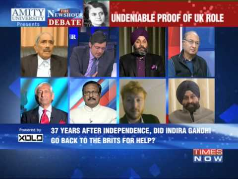 The Newshour Debate: Brits guided Operation Blue Star - Part 1 (15th Jan 2014)