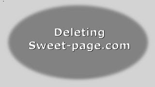 How To Remove Sweet-page.com (Firefox, IE, Chrome