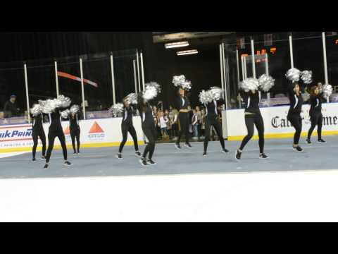 Crush Dancers - Corpus Christi IceRays (Feb. 1, 2014)